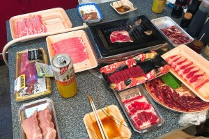 去精肉店吃燒肉:浅間農場 勝手に焼肉 鶴橋本店