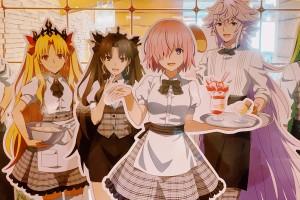 Fate/Grand Order期間限定合作咖啡廳:甜點吃到飽SWEETS PARADISE大阪天王寺店